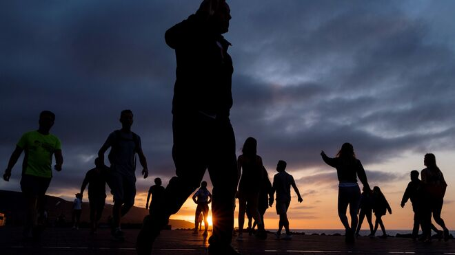 Primer día de la Fase 0 de desconfinamiento en Las Palmas de Gran Canaria