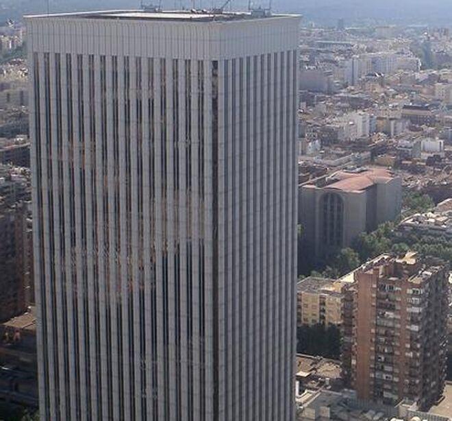 Torre Picasso, en Madrid.