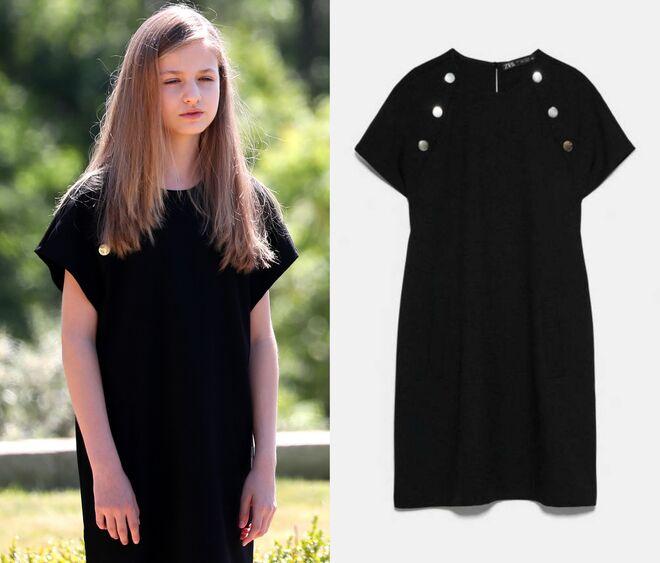 El vestido de Zara que llevó Leonor