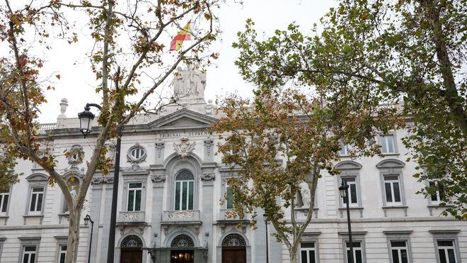 El edificio del Tribunal Supremo en Madrid.
