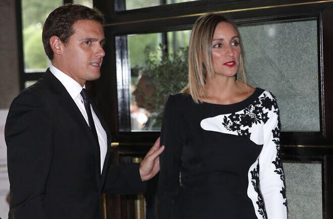 Albert Rivera y Beatriz Tajuelo en 2018