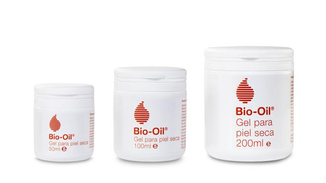 Bio Oil Gel es una crema para pieles secas que combina tres sustancias esenciales para conseguir una hidratación inmediata y duradera. PVP: 6.95€ (50ml.) 11.95€ (100ml.) y 16.95€ (200ml.)