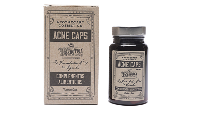 Complemento alimenticio anti-acné. PVP: 19,90€