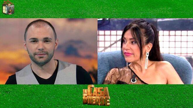 Cristian Suescun y Maite Galdeano en una imagen promocional de 'La casa fuerte'