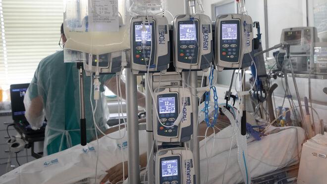 Habitación de UCI en el Hospital Gregorio Marañón