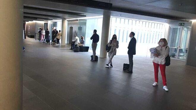 Imagen de los Juzgados de Barcelona el jueves 4 de junio.