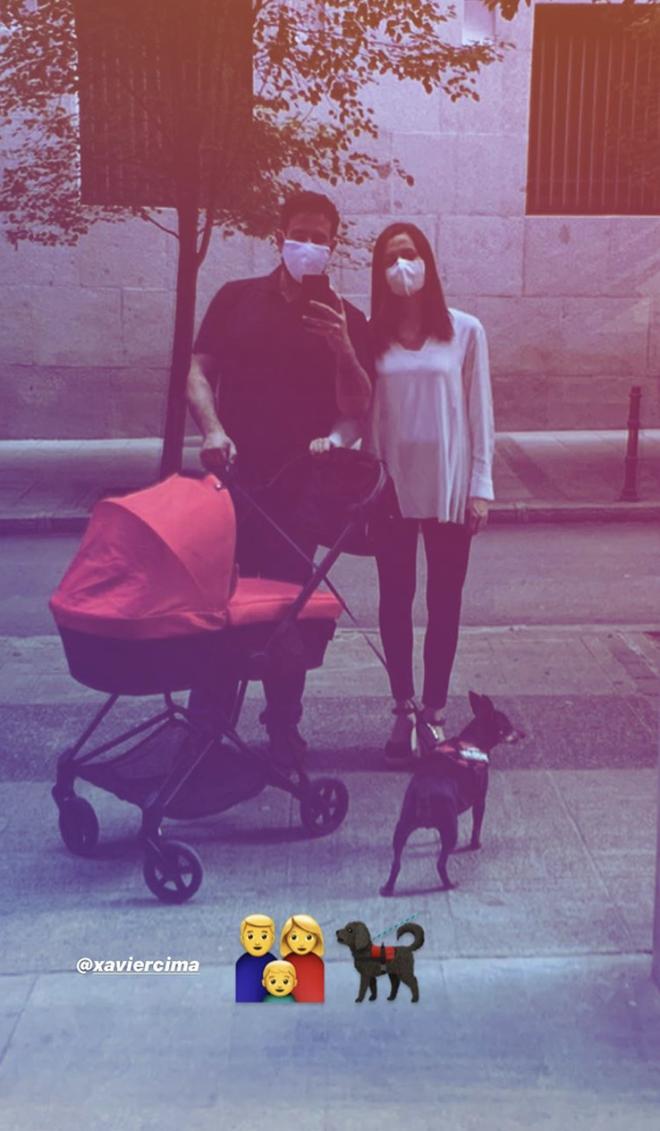 Inés Arrimadas, Xavier Cima y el bebé