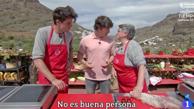 Juana habla sobre Andy en la prueba de eliminación de 'Masterchef'