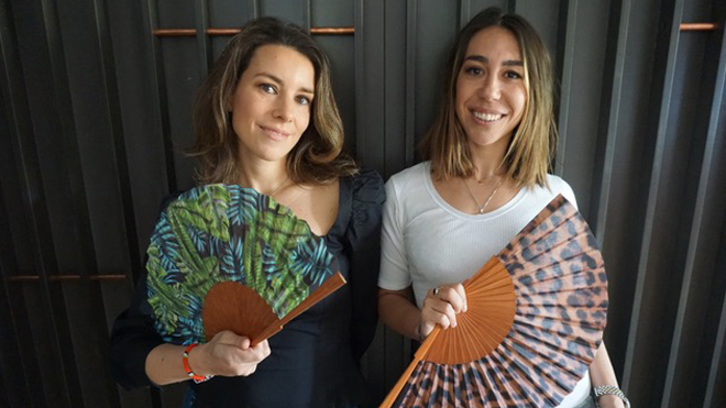 Laura y Alejandra, creadoras de la firma Kausi