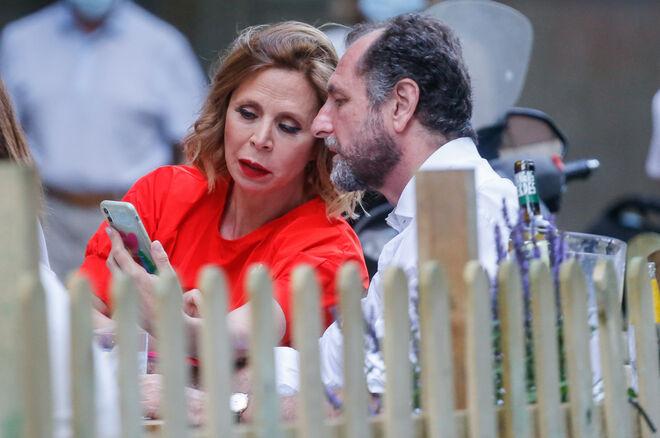 Luis Gasset y Ágatha Ruiz de la Parad en Madrid