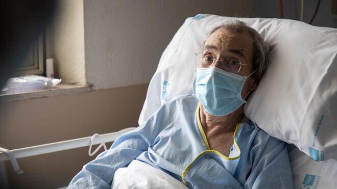 Luis González, paciente covid del Hospital Gregorio Marañón