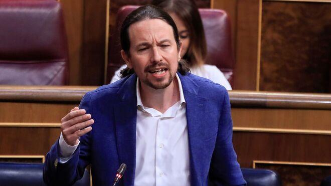 El videpresidente Pablo Iglesias contesta a Teodoro García Egea.
