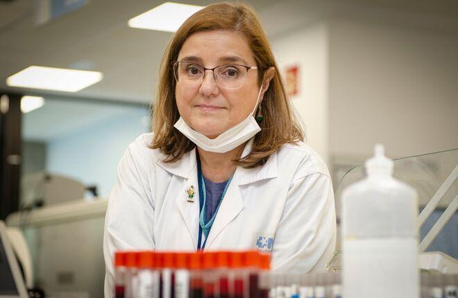 La doctora Patricia Muñoz, jefa de Microbiología Clínica del hospital Gregorio Marañón