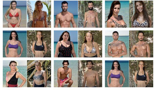 'Supervivientes': el antes y el después de los concursantes