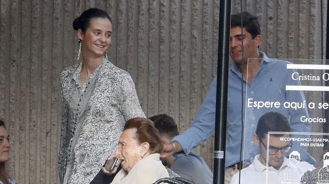 Victoria Federica con su novio Jorge Bárcenas en Madrid