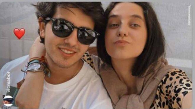Victoria Federica con su novio Jorge Bárcenas.