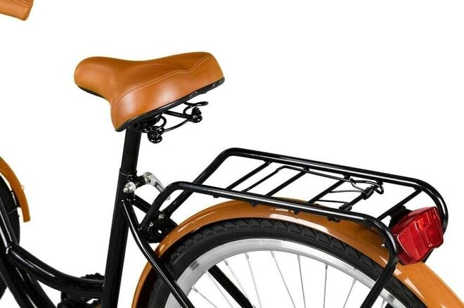 bicicleta marrón
