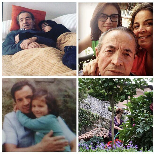 La familia de Adriana Lastra
