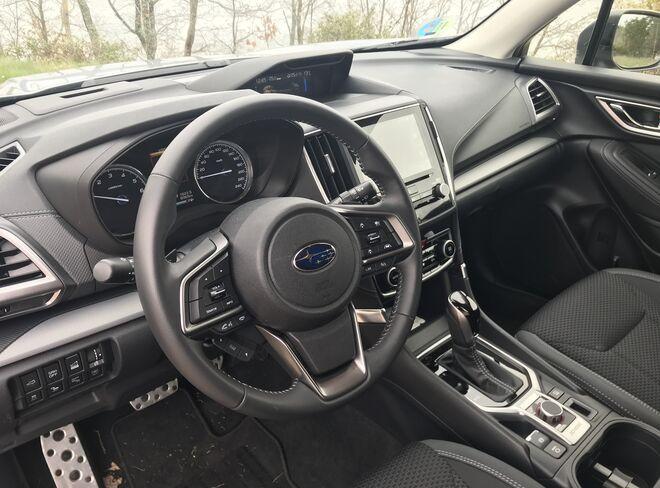 El interior destaca por la alta calidad de acabados.