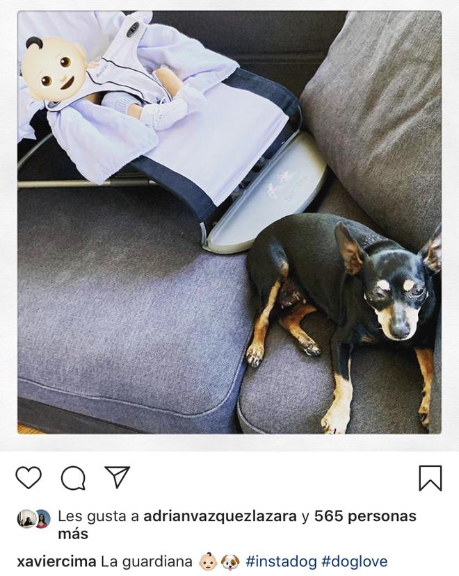 El perrito y el bebé