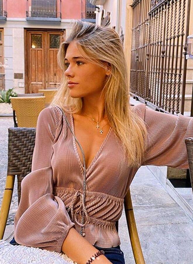Ana Soria, novia de Enrique Ponce.