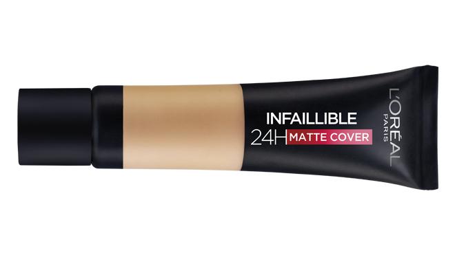 Base de maquillaje Infaillible 24H Matte Cover. PVP: 12.95€