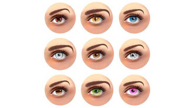 Diferentes formas de cejas