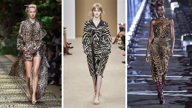 De izquierda a derecha, propuestas de Dolce & Gabbana, TOD´s y Saint Laurent