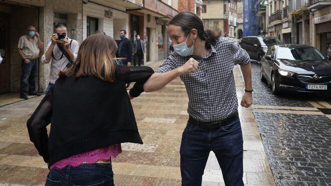 Pablo Iglesias en el País Vasco
