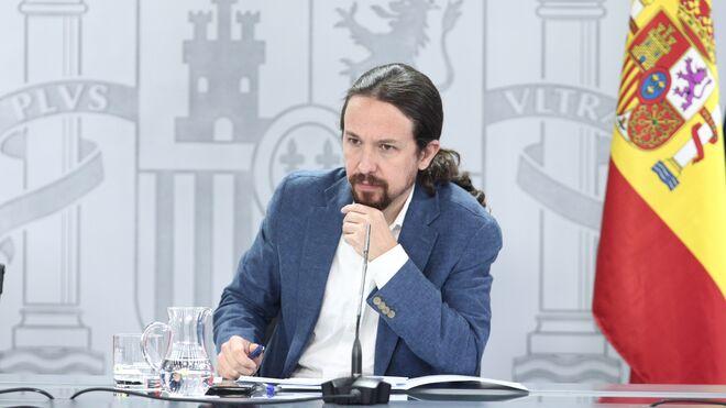 Pablo Iglesias, en rueda de prensa