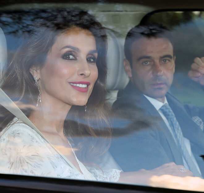 Paloma Cuevas y Enrique Ponce