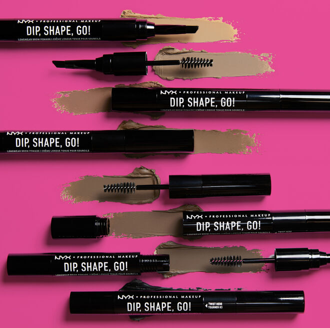 Producto Dip, Shape, Go! para maquillar las cejas. PVP: 10,90€