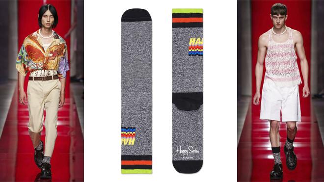 Propuestasde DSQUARED2 y calcetines de HAPPY SOCKS (PVP: 12.95€)