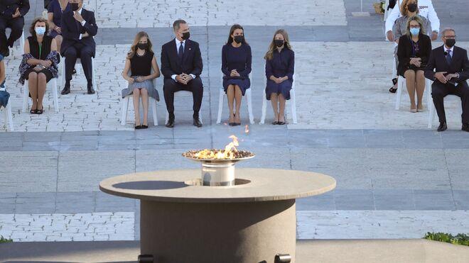 """El Rey Felipe VI, en el homenaje de Estado a las víctimas del coronavirus: """"No los olvidaremos"""""""