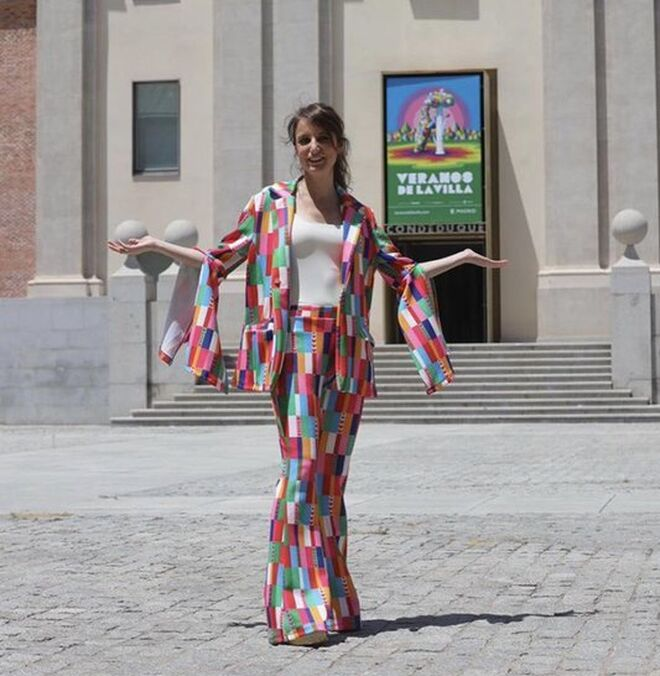 Andrea Levy con un diseño de Ágatha Ruiz de la Prada