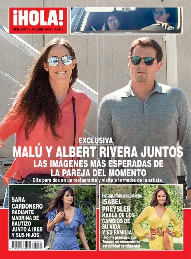 Albert Rivera y Malú en el Hola