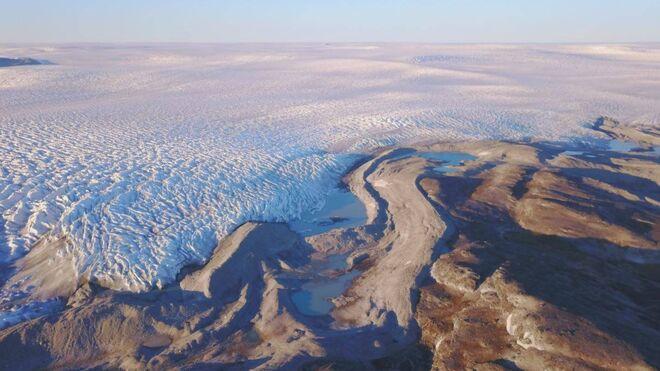 Capa de hielo de Groenlandia.