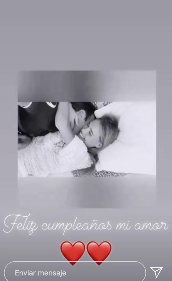 Una captura del vídeo de Enrique Ponce y Ana Soria