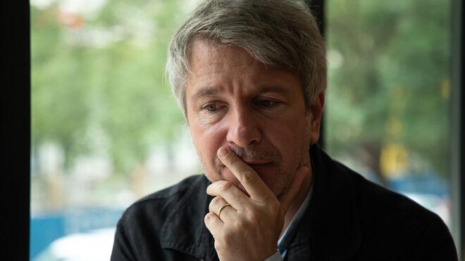 Éric Vuillard en la entrevista con Vozpópuli