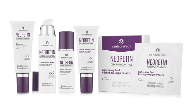 Familia de productos Neoretin para el tratamiento de manchas