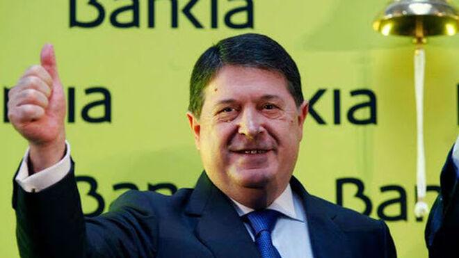 José luis Olivas, en la salida a Bolsa de Bankia.