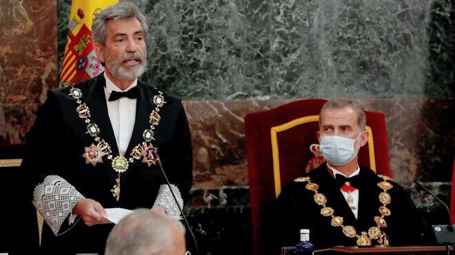 """Lesmes dice que el bloqueo de la renovación del CGPJ es """"una seria anomalía"""" e insiste en hacerla """"sin dilaciones"""""""