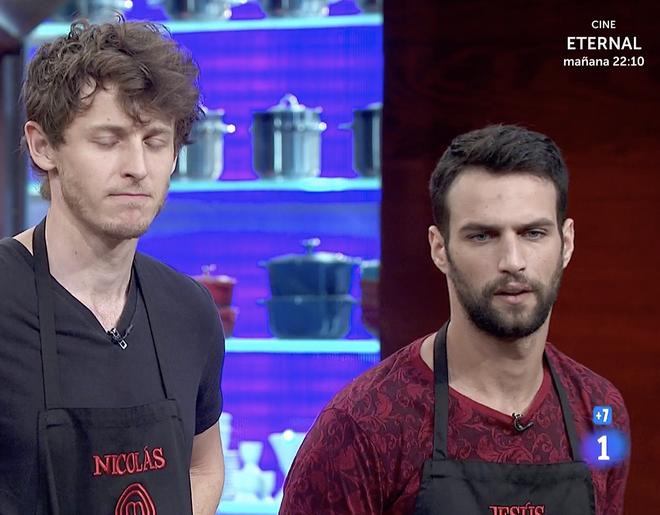 Nicolás Coronado y Jesús Castro