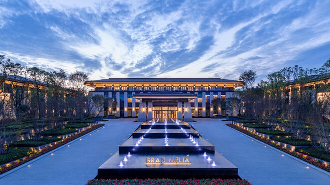 Nuevo hotel de Meliá en China.