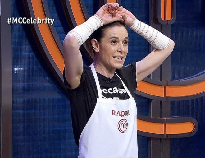 Raquel Sánchez Silva en 'Masterchef Celebrity'
