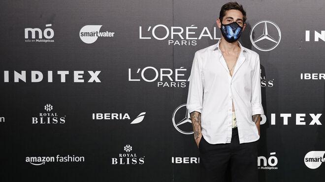 Robber Rodriguez en el photocall de la MBFW de Madrid