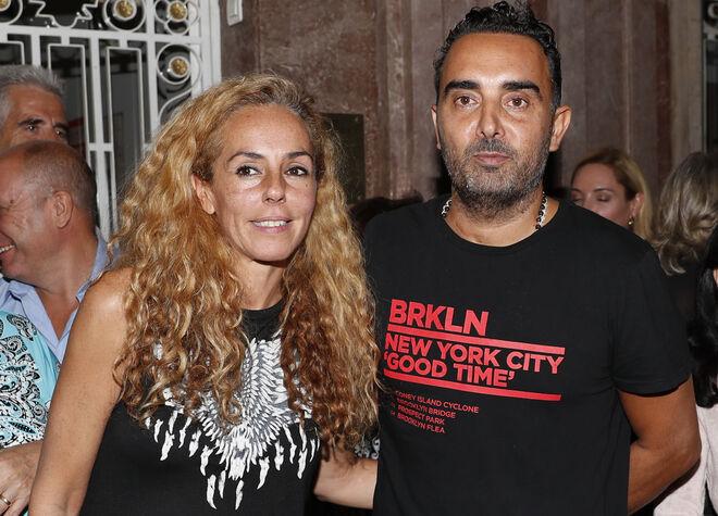 Rocío Carrasco y su marido Fidel Albiac.