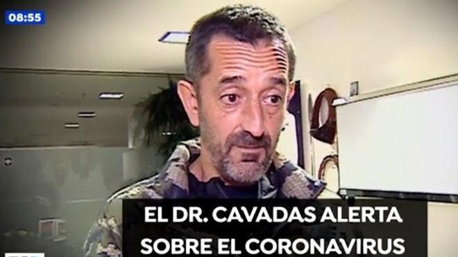 El doctor Cavadas alertó en enero de la virulencia del coronavirus.