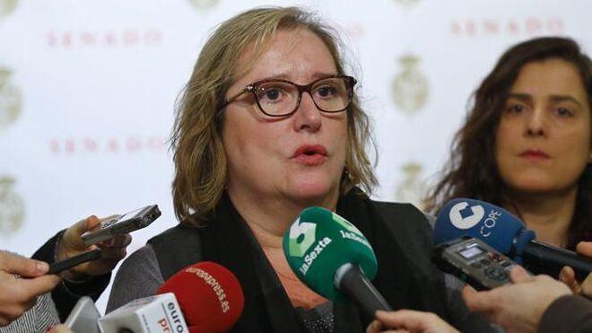 La exsenadora de Podemos Celia Cánovas