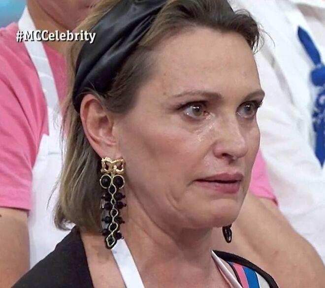 Ainhoa Arteta llora desconsoladamente en 'Masterchef Celebrity'
